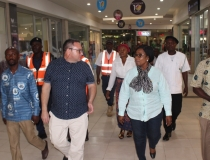 HON. EVELYN N.A. TWUM-GYAMRAH VISITS THE ACCRA MALL